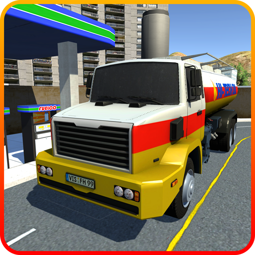 OffRoad Öl Tanker Ladung Transport Spiel