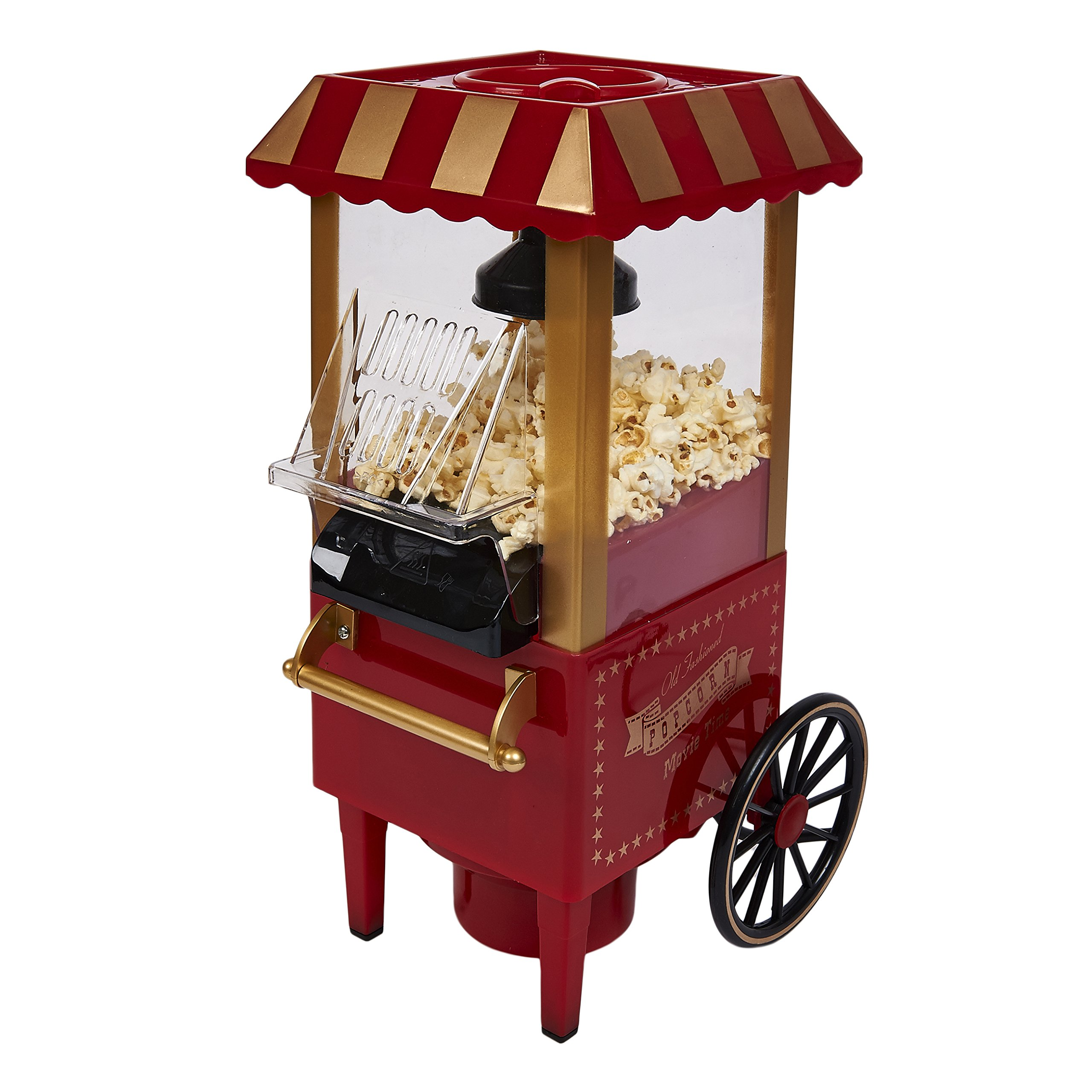Retro Carnival Fun Fair Style Electric Hot Air Popcorn Maker Machine Popper 1930's Style by Express