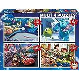 Educa 15615 - Multi-4 Puzzle - Disney/Pixar