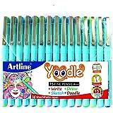 Artline FD6342300003 Yoodle Fine Line Pen Set - Pack of 15