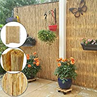 Abaseen Natural Reed Screening Garden Fence Peeled Roll Screen Wind Sun Protractor Privacy Border Parent