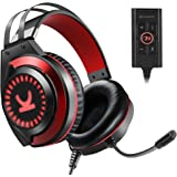 VANKYO Gaming Headset CM7000 Pro PS4 Headset with 7.1 Surround Sound Stereo Xbox One Headset, Gaming Headphones with Noise Ca