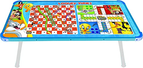 Zitto Looney Tunes Multipurpose Wooden Gaming Foldable Table