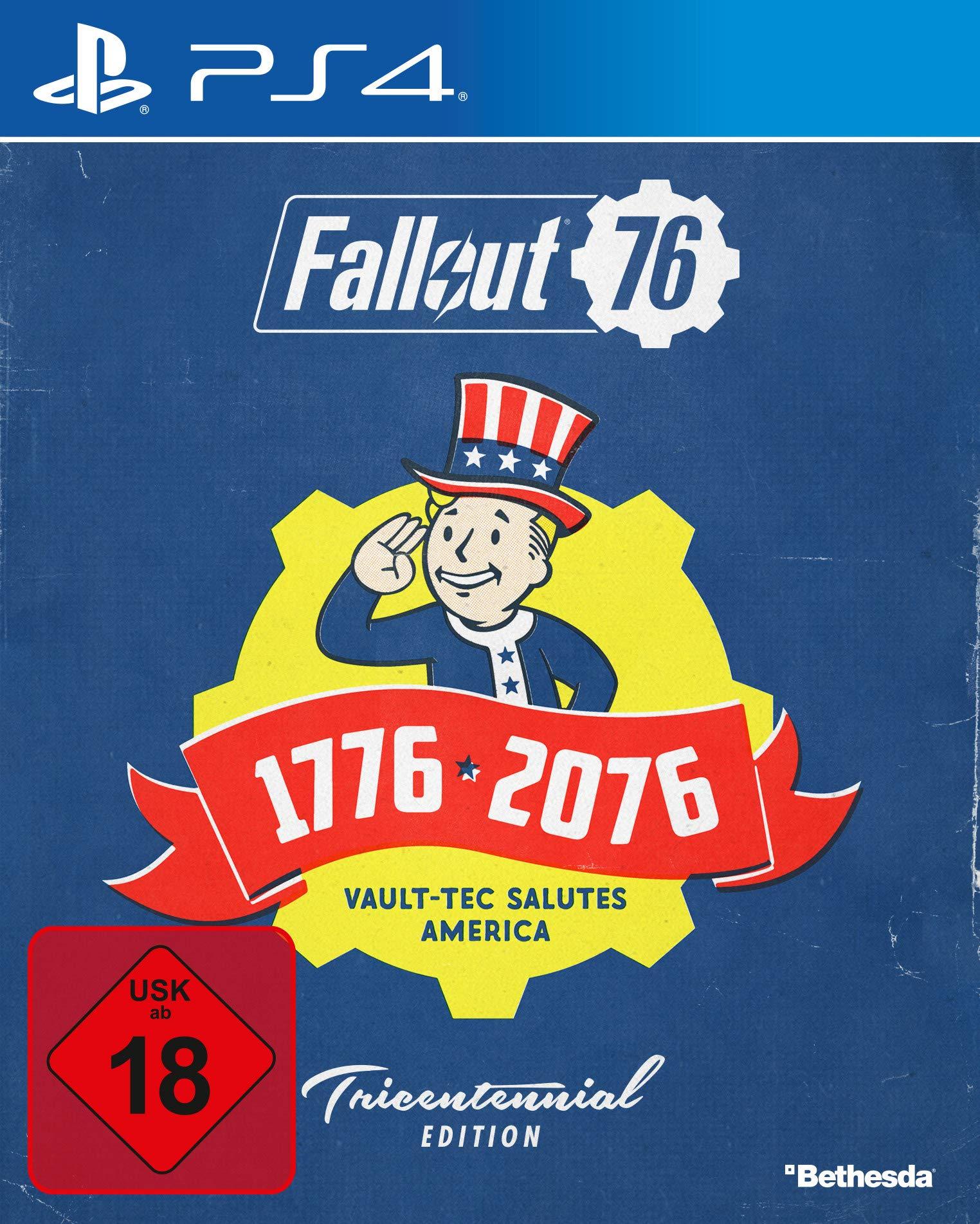 Fallout 76 Tricentennial Edition [PlayStation 4 ] [Importación alemana]