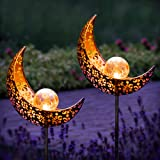 Gadgy Lampe Solaire Exterieur Decorative   Jeu de 2 Torche Solaire Exterieur Jardin   Deco Jardin Exterieur Original   Lumier