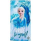 Disney Frozen 2 algodón. Referencia KD Playa lavarse la Cara-Toallas Textiles del hogar Unisex Adulto, Multicolor (Multicolor