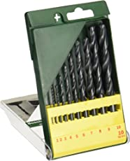 Bosch HSS-R Metal Drill Bit Set (10-Piece)