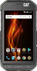 Cat phones S31 Rugged Dual-SIM Smartphone (11,9 cm (4,7 Zoll) HD-Display, 16 GB interner Speicher (erweiterbar auf 128GB), Android Nougat, 4000 mAh Akku) schwarz