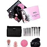 Brochas de Maquillaje Profesional - Brochas de Maquillaje y Cinta para la Cabeza – Set de maquillaje profesional para Mujeres