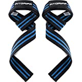 Fitgriff® Straps Palestra (Imbottito) - Professionali Cinghie Sollevamento Pesi - Crossfit, Gym, Bodybuilding, Powerlifting -