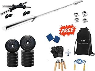 Protoner 30kg with 3 Feet Straight Rod Home Gym Package
