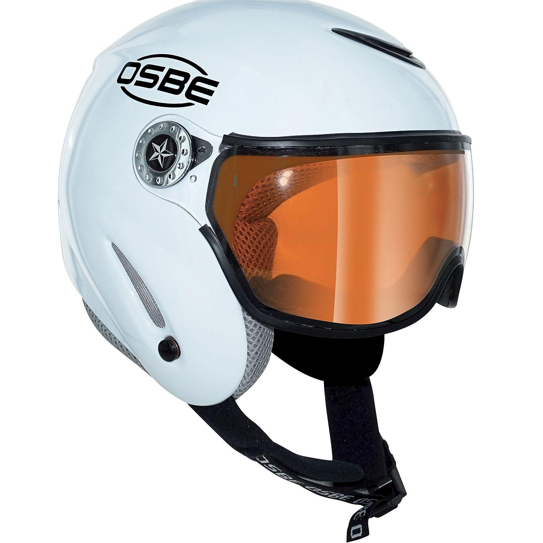 OSBE – Skihelm Snow Rainbow Visier weiß – Damen – weiß weiß 54 56 Amazon Sport & Freizeit