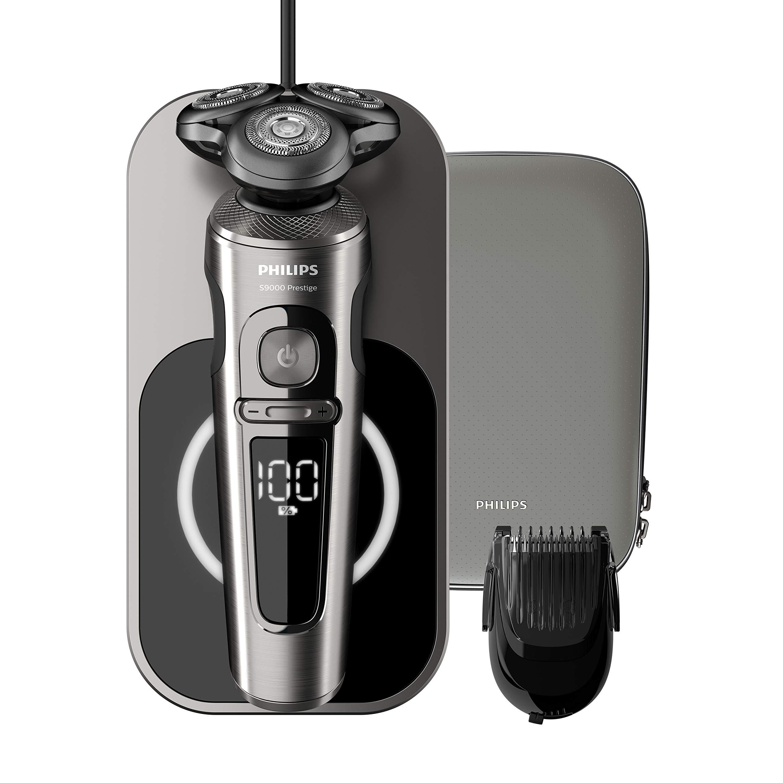 Philips SP9860/16 Shaver S9000 Prestige, Rotationsrasierer (Nass-/Trockenrasierer)
