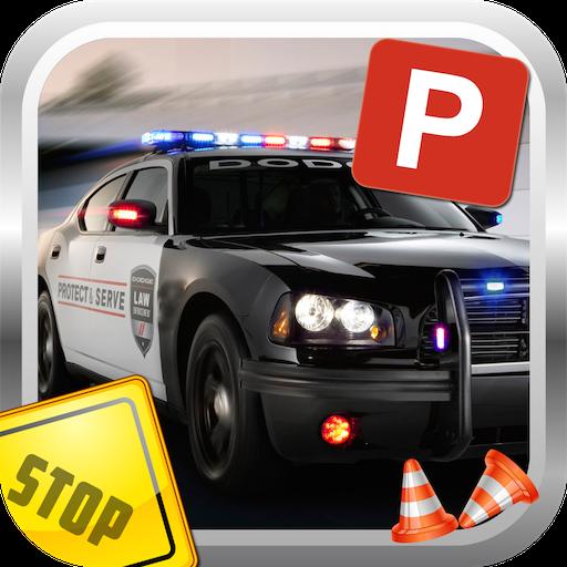 Polizei-Auto-Parken-Simulator (Die Süchtig X)