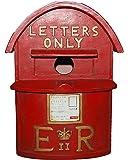 Vivid Arts D Nichoir Oiseaux Boîte à Lettres Britannique - Rouge