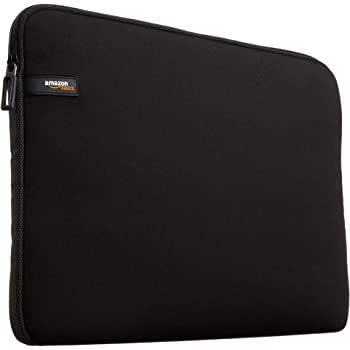 AmazonBasics - Sleeve per Laptop / MacBook Air / MacBook Pro / MacBook Pro con display Retina, 13,3 pollici, colore: Nero