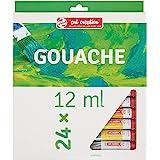 Talens Set Of 24 Pieces Art Creation Gouache - Multicolor, 12 Ml