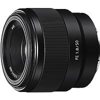 Sony SEL50F18F E Mount Full Frame 50 mm F1.8 Prime Lens (Black)