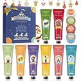 Crema Mani, Balsamo Labbra, Eleanore's Diary 8 PCS crema nutriente per le mani e 4 PCS balsamo labbra, regalo di Natale…