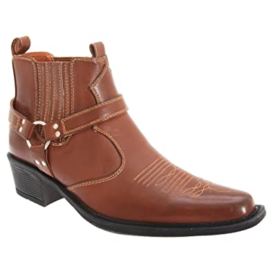 US Brass Eastwood , Bottines style cowboy , Homme Amazon.fr Chaussures et  Sacs