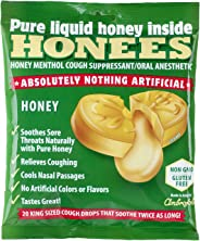 Honees Original Honey Menthol Cough Drops, 20 Count Bag