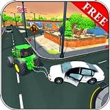 Tractor de remolque en City Simulator 2018 3D