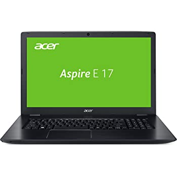 Acer Aspire E 17 (E5-774-31WK) 43,94 cm (17,3 Zoll HD Plus) Laptop (Intel Core i3-6157U, 8GB RAM, 1000GB HDD, Intel HD, Win 10 Home) Schwarz