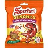 Sperlari - Kids Dinomix, Caramelle alla Frutta Morbide e Frizzanti a Forma di Dinosauro, Lampone, Limone, Fragole e…