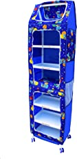 Flipzon XXL Multipurpose 7 Shelve Toy Box, Multi Color