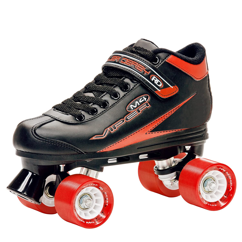 Quad roller skates amazon - Roller Derby Men S Viper M4 Speed Quad Skate Roller Skates Amazon Co Uk Sports Outdoors