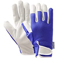 Viridescent Gardening Gloves for Women and Men - Multipurpose Leather Garden Gloves Thorn Proof - Ideal Gardening Gifts