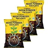 TrustBasket Neem Cake Powder Organic Fertilizer and Pest Repellent for Plants (450 GMS) - Set of 4