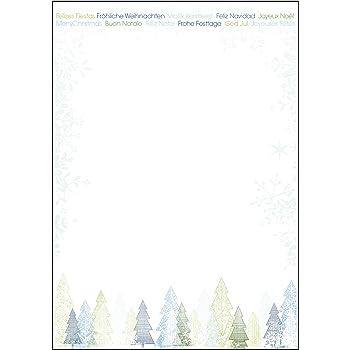 SIGEL DP248 Weihnachtsbriefpapier A4 100 Blatt