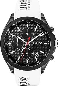 Hugo Boss Orologio Analogico Quarzo Uomo con Cinturino in Silicone 1513718