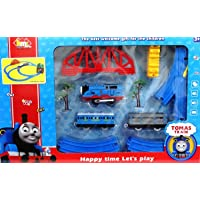 Vaibhav (JBP XPREZA) MC Thomas Battery Operated Toy Train Track Set + Over-Bridge + Tunnel