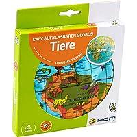 HCM Kinzel Caly 76115 - Aufblasbarer Globus Tiere Spielzeug
