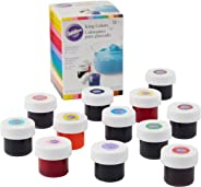 Wilton Icing Colors, 12-Count Gel-Based Food Color