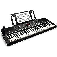 Alesis Melody 54 - Tastiera Musicale, Portatile, Pianola a 54 Tasti con Casse Integrate, Microfono, Leggio e Potenti…