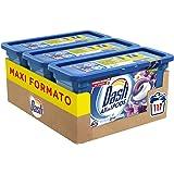 Dash Allin1 Pods Detersivo Lavatrice in Capsule Lavanda e Camomilla, Maxi Formato da 3 x 39 Pezzi, 117 Lavaggi
