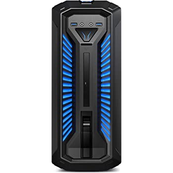 MEDION ERAZER X67103 Gaming Desktop PC (Intel Core i5-9400, 1TB HDD, 128GB PCIe SSD, 16GB DDR4 RAM, NVIDIA GeForce GTX 1060 mit 6 GB GDDR5 VRAM, Win 10 Home) schwarz