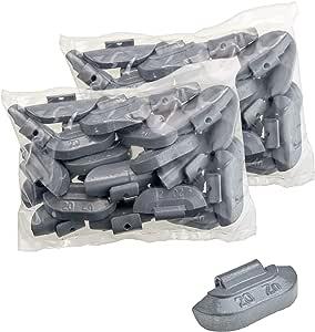 Stix 50x Schlaggewichte Stahlfelgen Auswuchtgewichte Zink Zn 20g Wuchtgewichte Für Stahlfelgen Auto