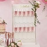 Ginger Ray Prosecco Champagne Bubbliga drycker vägghållare bröllop möhippa party dekoration – guld bröllop