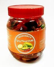 Jayashri's Homemade Spicy Mixed Pickle, 500g **Free Shipping**