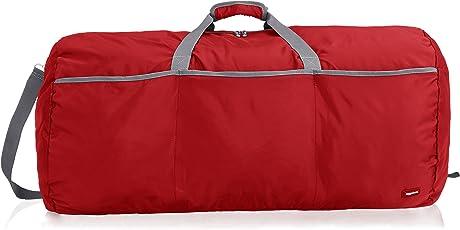 AmazonBasics 98 Ltrs Large Duffel Bag, Red