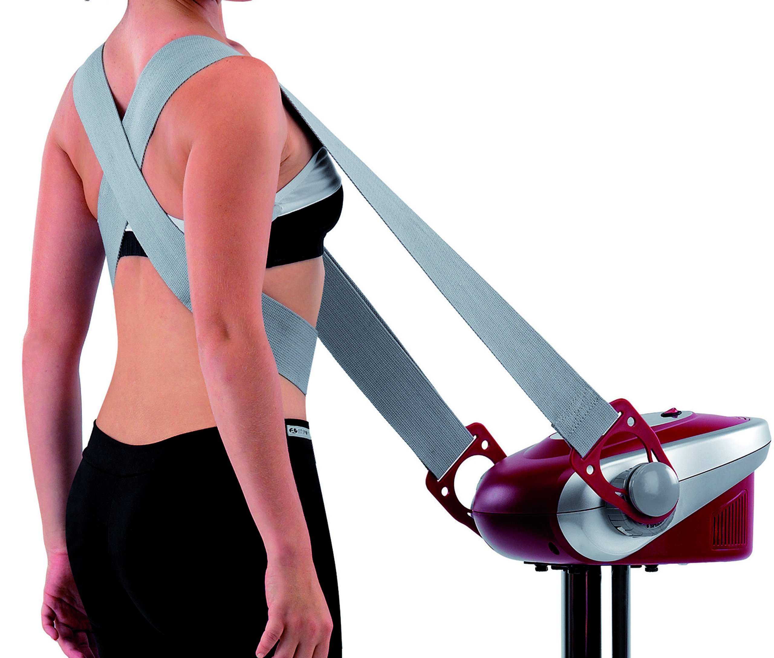 81Lh3BOsUoL - BH Fitness Tactile Tonic Pro G225 Vibration belt massage machine. Relax overloaded muscles and sore joints. Ultra…