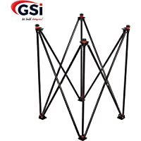 GSI Foldable Height Adjustable Carrom Board Stand Professional Easy Fold Hydraulic Premium Quality for Carom