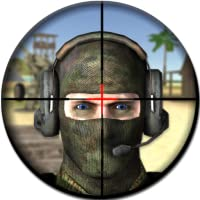 Modern Sniper Gun Shooting