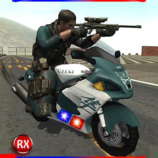Polizei Motorrad Geheimagent