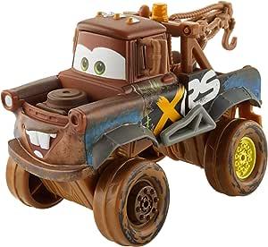 Disney Cars GBJ47 - XRS Xtreme Racing Serie Schlammrennen Die-Cast Spielzeugauto Deluxe Hook, Spielzeug ab 3 Jahren