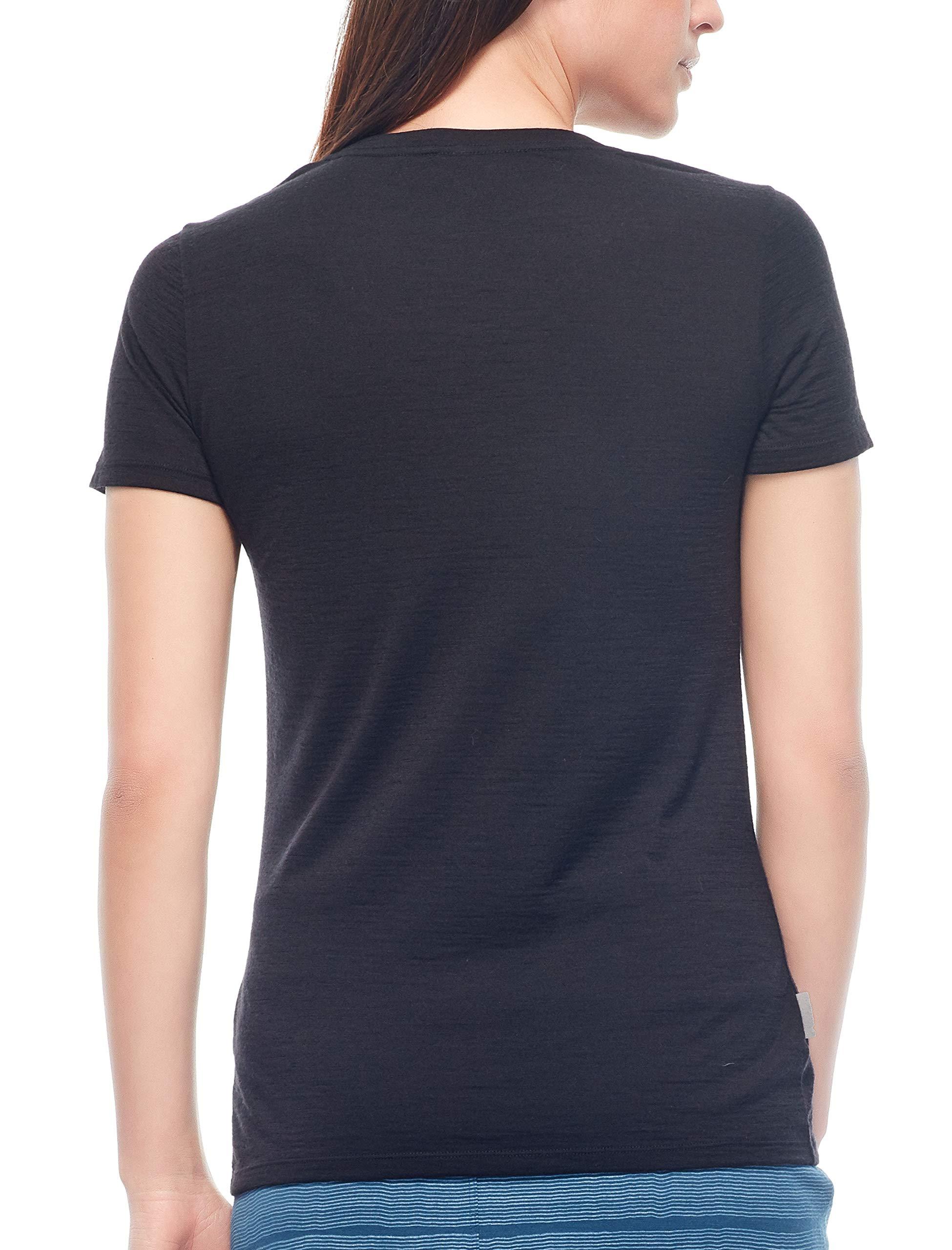 Icebreaker Women's Tech Lite Ss Low Crewe T-Shirt